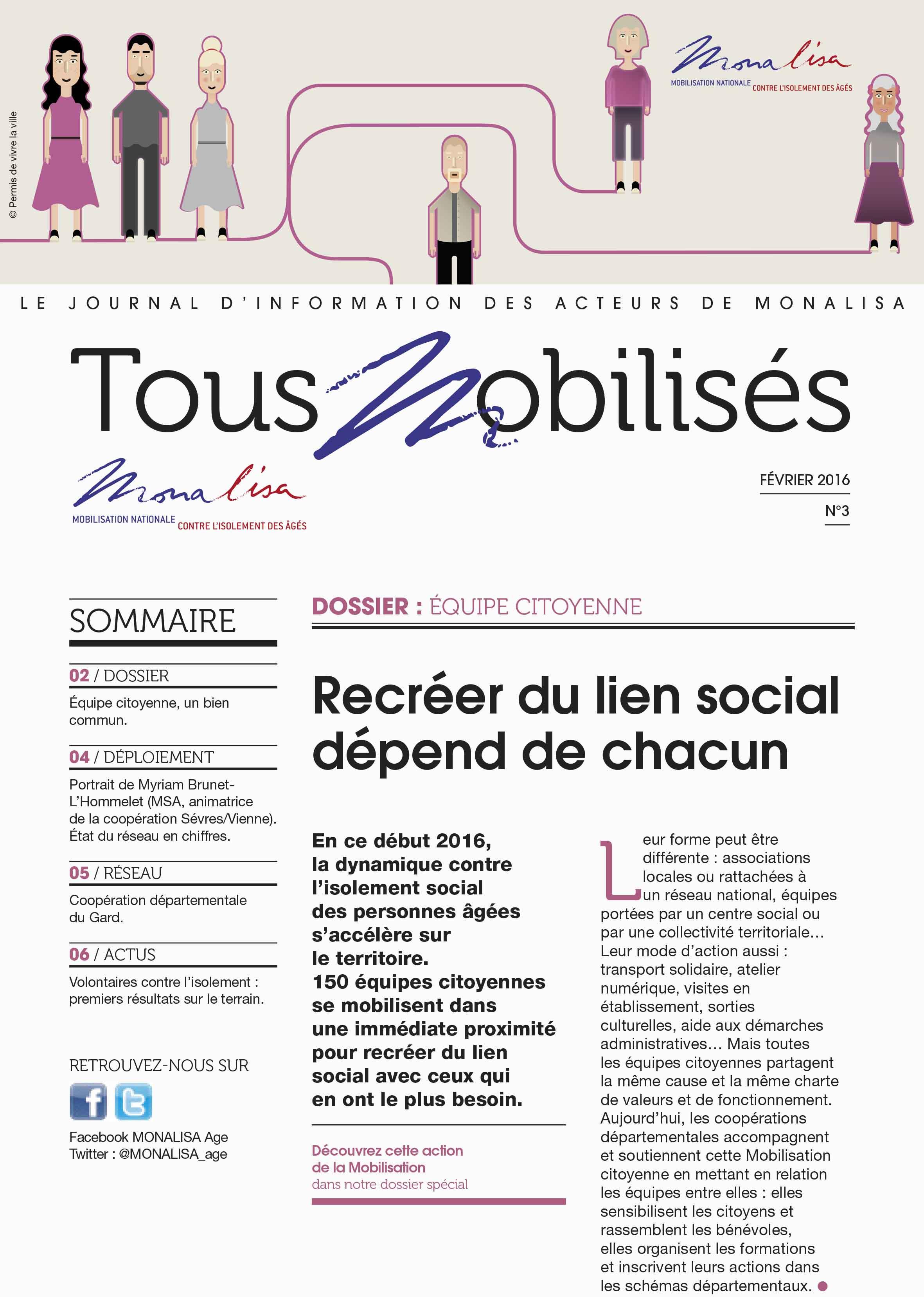 Journal TOUS MOBILISES n°3