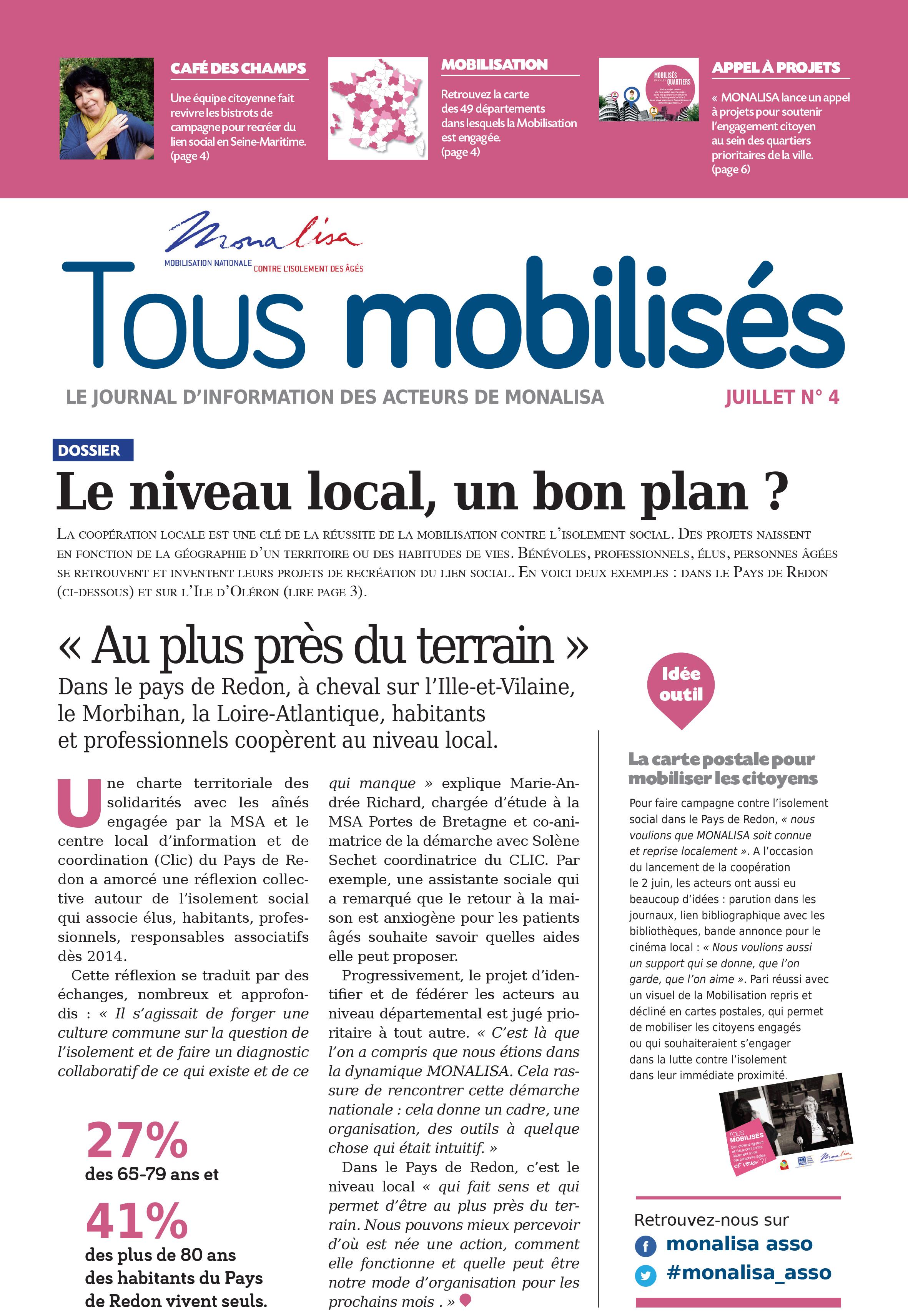 Journal TOUS MOBILISES n°4