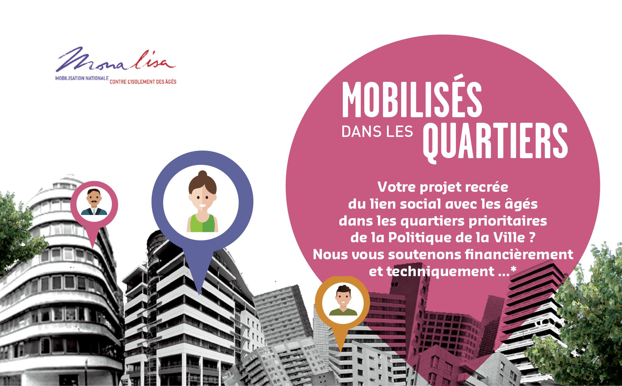 Bravo aux 15 lauréats de l'appel à projets Mobilisés dans les quartiers
