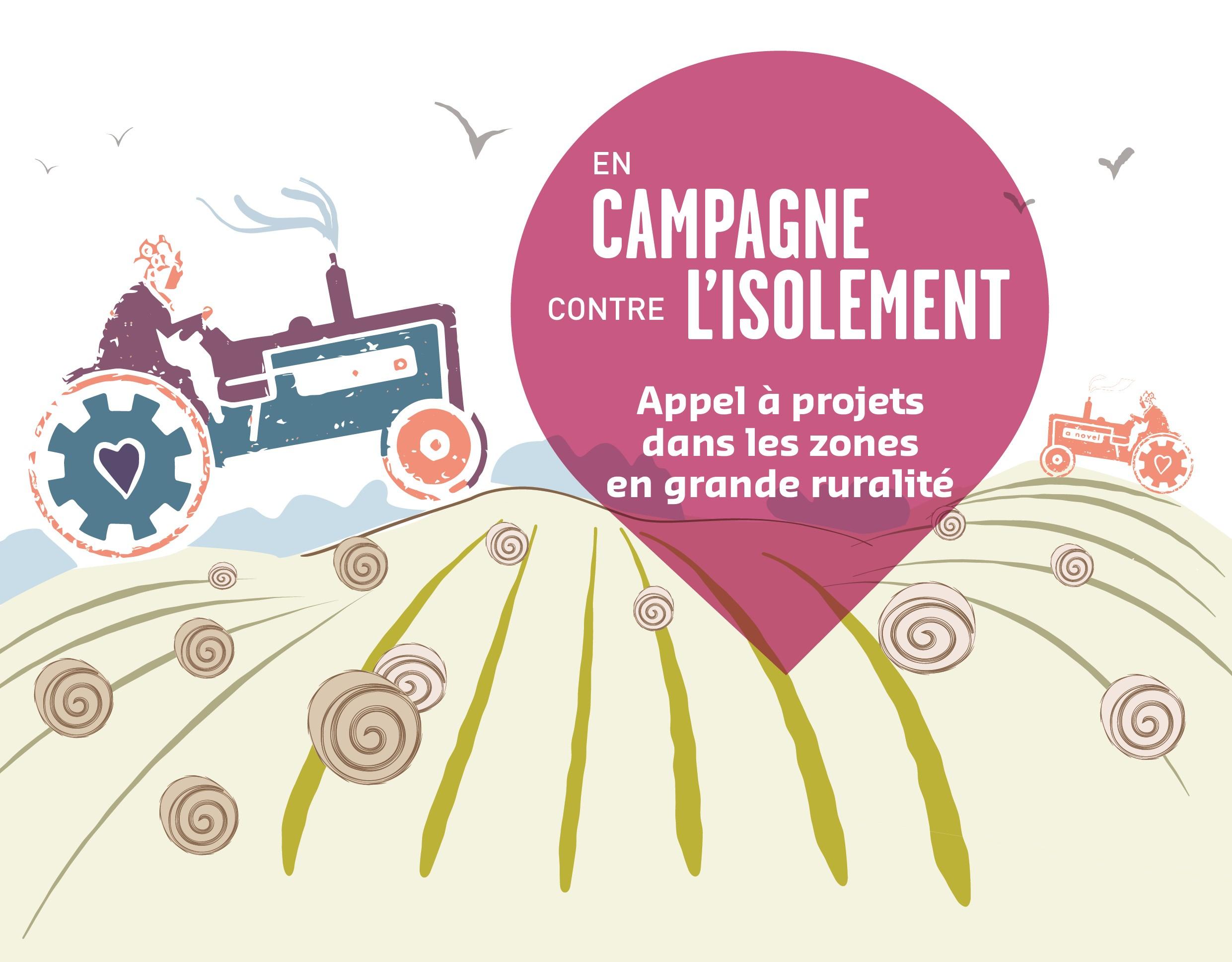 Participez à l'expérimentation « En campagne contre l'isolement » #2 !