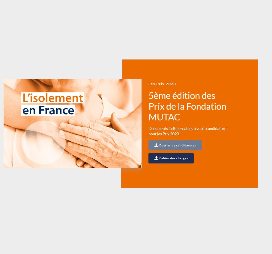 Lutte contre l'isolement : appel à projets de la fondation Mutac